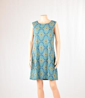 Robe tunique Sun turquoise