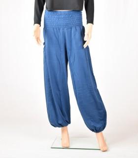 Pantalon aladin bleu