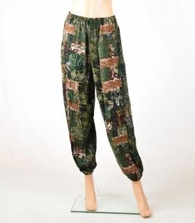 Pantalon Demi safari