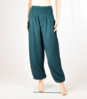 Pantalon Smock émeraude