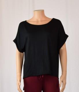Tee-shirt ample noir